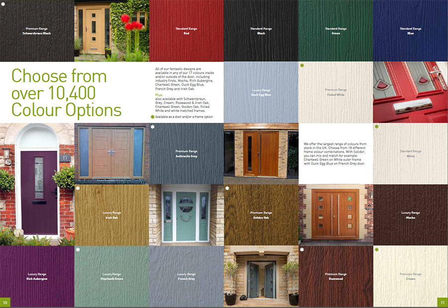 Composite Doors - SGM Window Manufacturing Limited